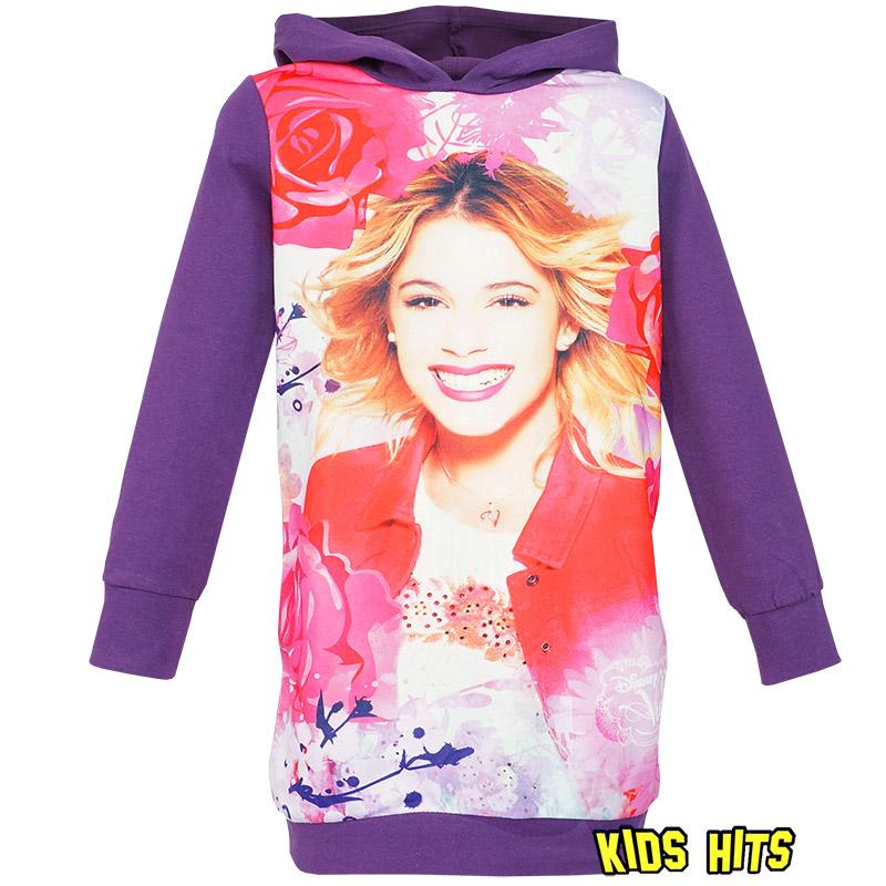 Ubrania Violetty – tunika bluza Violetta fioletowa