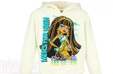 Ubrania Monster High - bluza z kapturem dla dziewczynki