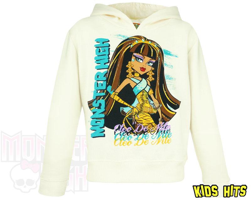 Ubrania Monster High – bluza z kapturem dla dziewczynki