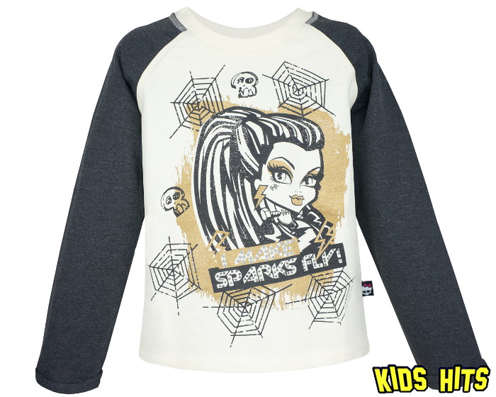 Bluza Monster High – śliczne ubrania dla dziewczynki