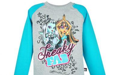 Dresowa Bluza Monster High dla dziewczynki