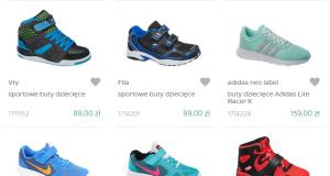 Dla chłopca - markowe buty sportowe dla dzieci