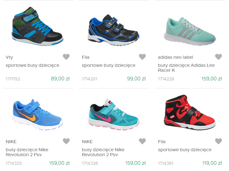 Dla chłopca – markowe buty sportowe dla dzieci