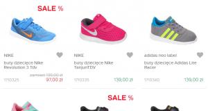 Dla dziewczynki - markowe buty sportowe dla dzieci