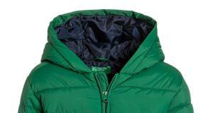 Ciepła zimowa kurtka chłopięca zielona