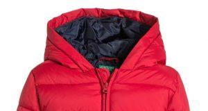 Ciepła zimowa kurtka chłopięca czerwona