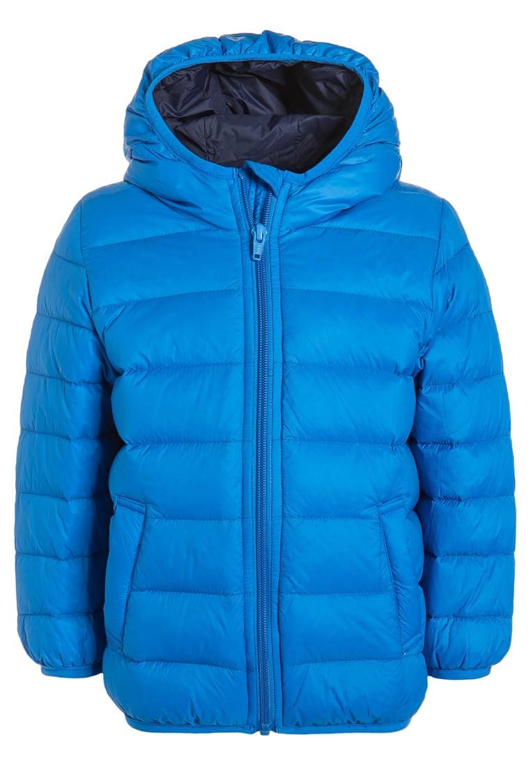 Kurtka zimowa dla chłopca niebieska