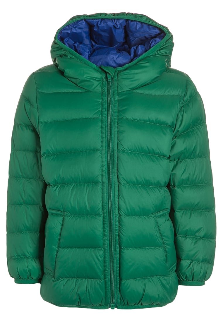 Zimowa kurtka dla chłopca zielona