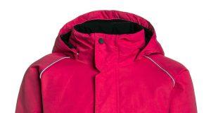 Różowa kurtka zimowa dla dziewczynki