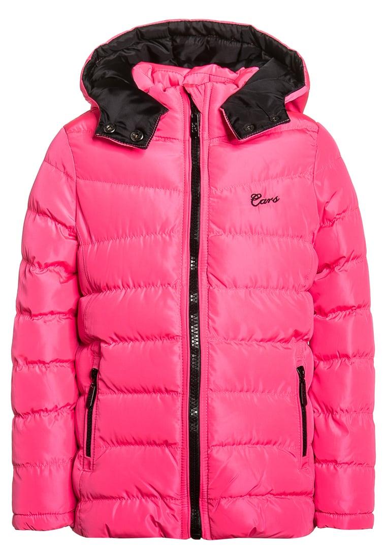 Ocieplana zimowa kurtka dla dziewczynki różowa