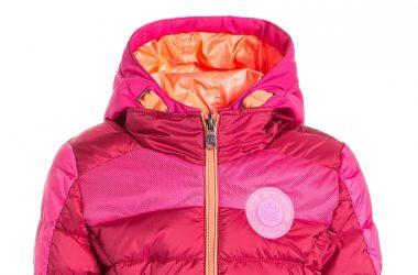 Ciepła kurtka na zimę dla dziewczynki różowa