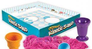 Kinetic Sand piasek kinetyczny z foremkami do lodów