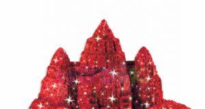Piasek kinetyczny Kinetic Sand color czerwony