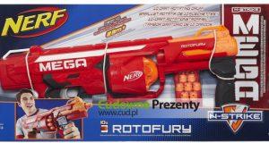 Zabawki Nerf Pistolet wyrzutnia Mega RotoFury