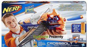 Nerf zabawki dla dzieci wyrzutnia Crossbolt