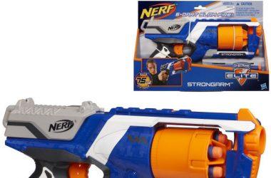 Nerf Strongarm Elite wyrzutnia z obrotowym magazynkiem