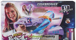 Nerf dla dziewczyn - zabawki NERF Codebreaker Crossbow