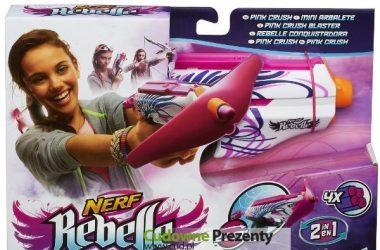 Nerf dla dziewczyn - karabin NERF rebelle