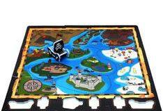 Duża piankowa mata dla dzieci wyspa skarbów