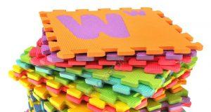 Duże puzzle piankowe alfabet dla dzieci