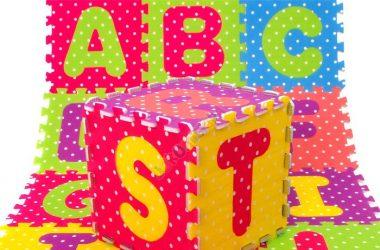 Duże puzzle piankowe litery alfabetu