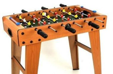 Gra stołowa drewniane piłkarzyki dla dzieci