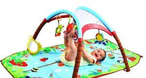 Duża mata edukacyjna dla niemowląt
