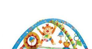 Mata edukacyjna dla niemowląt z małpkami