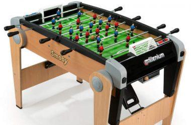 Gra piłkarzyki stołowe dla dzieci