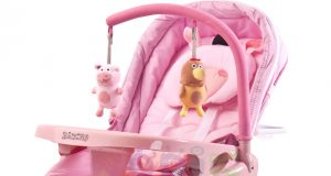 Wygodne leżaczki dla niemowląt - z wibracjami