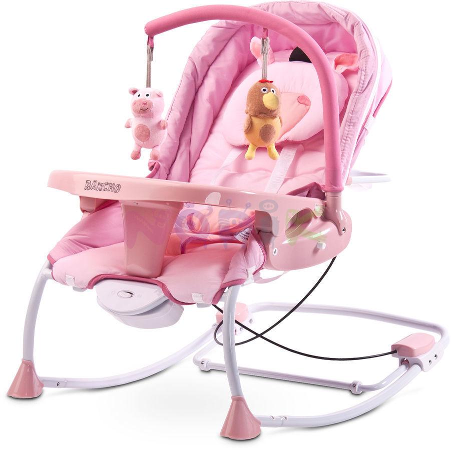 Wygodne leżaczki dla niemowląt – z wibracjami