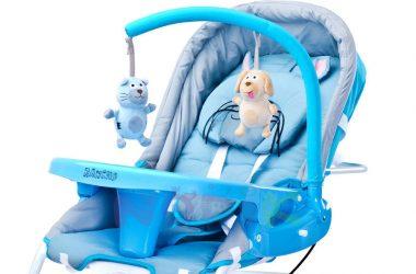 Wygodne bujaczki dla niemowląt - z wibracjami
