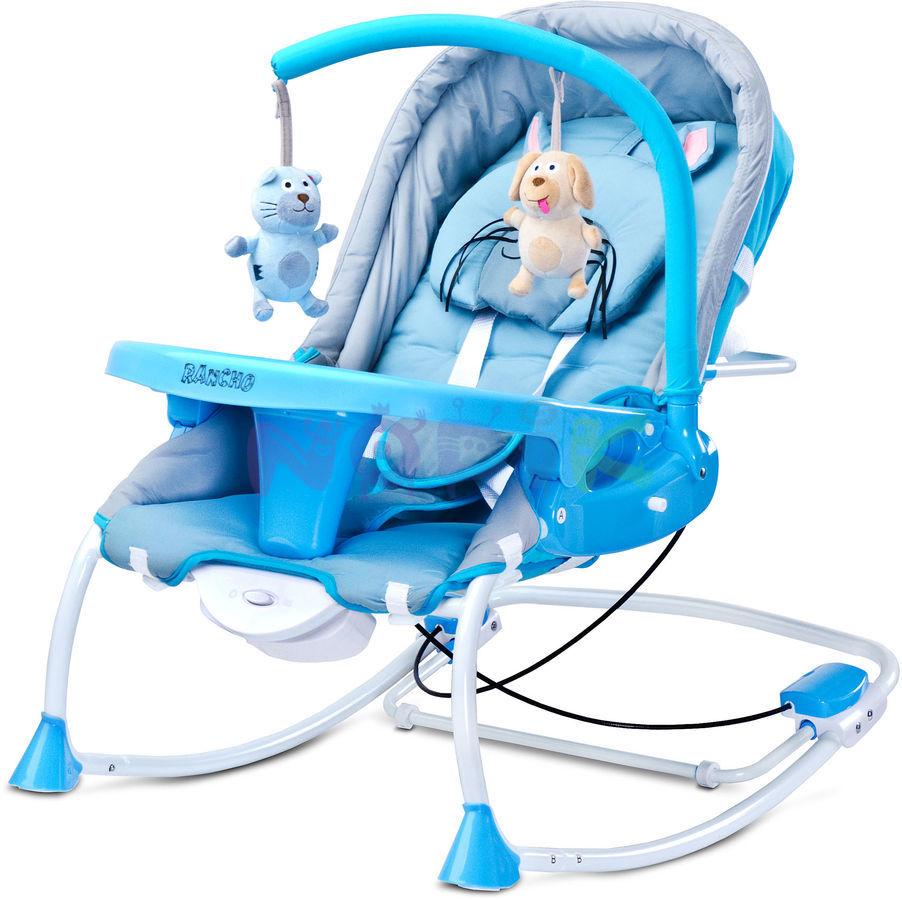 Wygodne bujaczki dla niemowląt – z wibracjami