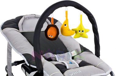 Bujaczek dla niemowlaka szary