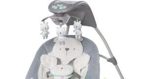 3w1 leżaczek bujaczek huśtawka dla niemowląt