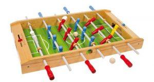 Drewniane piłkarzyki gra stołowa dla dzieci