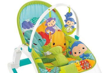 Fotelik bujaczek dla dzieci zielony