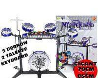 Zestaw muzyczny keyboard perkusja dla dzieci