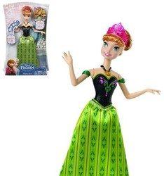 Kraina Lodu Anna śpiewająca Mattel