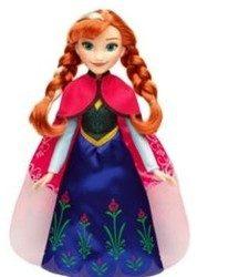 Anna kraina lodu lalka w magicznej sukience