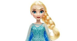 Lalka Elsa w magicznej sukience