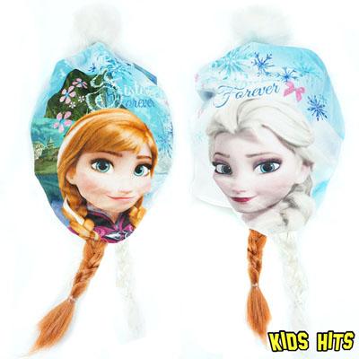 Czapka Frozen Kraina Lodu zimowa Anna Elsa
