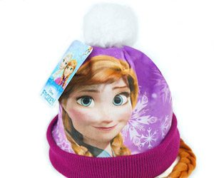 Zimowa czapka dziecięca Anna Kraina Lodu