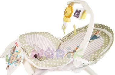 Leżaczek bujaczek dla dzieci 3w1