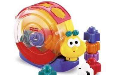 Ślimak fisher price - zabawki dla dzieci