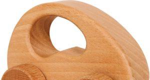 Autko drewniane - naturalne