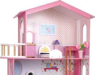 Domek dla lalek z windą - zabawka dla dzieci
