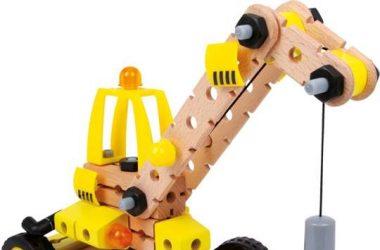 Dźwig - zabawki do samodzielnego montażu