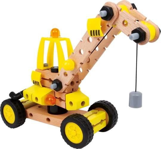 Zabawki do samodzielnego montażu – dźwig