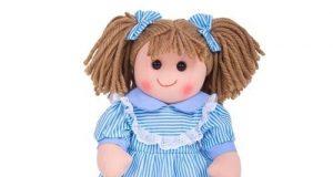 lalka szmaciana dla dziewczynki Amelia